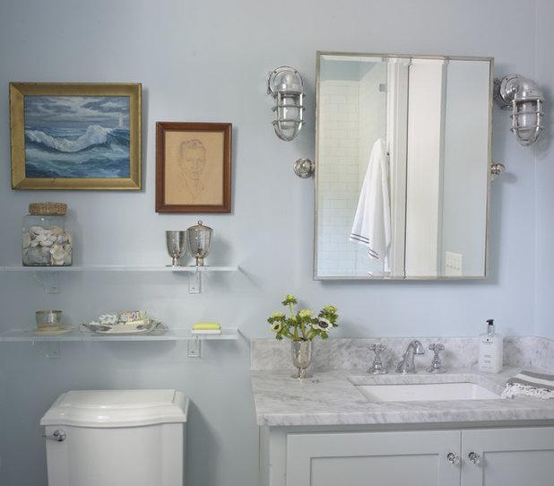 Морской Ванная комната by Rethink Design Studio
