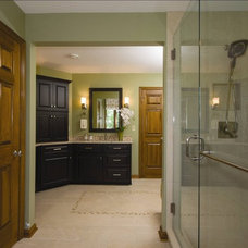 Eclectic Bathroom by J.S. Brown & Co.