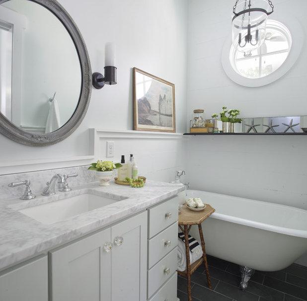 Ba o los mejores materiales para la encimera del lavabo - Cuanto dura un bano de color ...