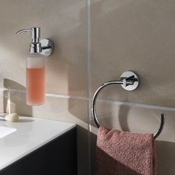 Bath Accessories- no drilling required! - no drilling required bath accessories by nie wieder bohren Germany mount without drilling using a patented wall plate and commercial adhesive used in the European auto industry. The installation is simple, installs in less than a minute and as a bonus is removable as needed with no damage making remodels and refreshes simple and quick. Can be mounted on any type of surface other than dry wall or wall papered walls. Can be mounted on smooth or rough surfaces, indoor or outdoor and even directly over grout lines. No measuring needed for two post mounts. Watch the installation video to see how simple the installation process is.