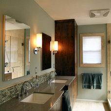 Contemporary Bathroom by Tenney Construction