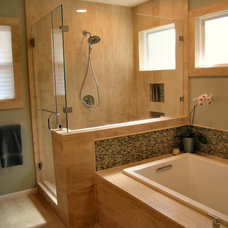 Contemporary Bathroom by Tenney Construction