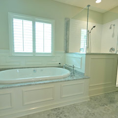 traditional bathroom by Davidson Builders, inc.