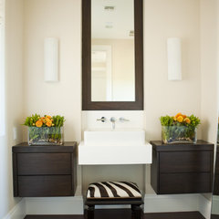 contemporary bathroom by Alice Lane Home Collection