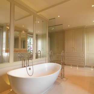Inspiration for a timeless bathroom remodel in London