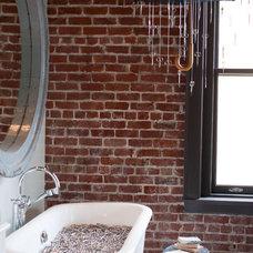 Eclectic Bathroom Bath by Ma(i)sonry