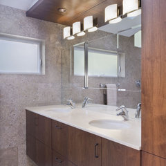modern bathroom by Camber Construction