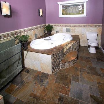 Bath corner tub