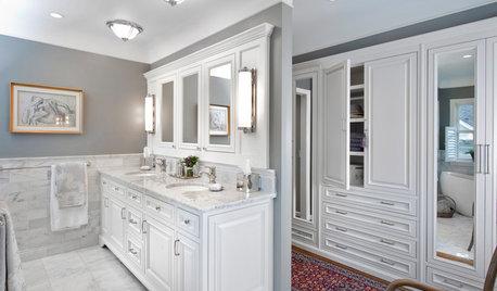 Walk-In Wardrobe in the Bathroom: Yes or No?