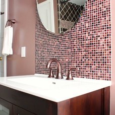 Eclectic Bathroom by Story & Space - Interior Design and Color Guidance