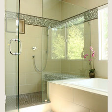 Contemporary Bathroom by Story & Space - Interior Design and Color Guidance