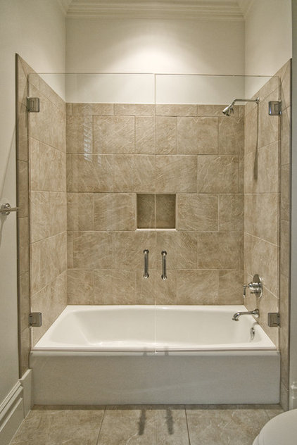 Traditional Bathroom by Don Duffy Architecture