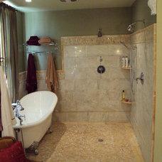 Eclectic Bathroom by HP Builders, Inc