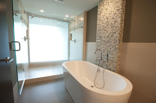 Modern Bathroom by FrontPorch