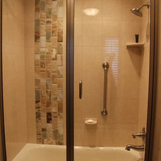 Traditional Bathroom by ROBERT F. HENRY TILE CO.