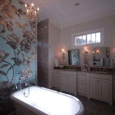 Craftsman Bathroom by The Masonry Center Billings