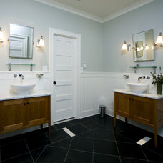 Traditional Bathroom by KohlMark Architects and Builders