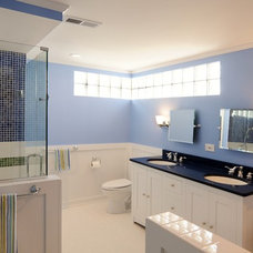 Eclectic Bathroom by Laura Zender Design, Allied ASID