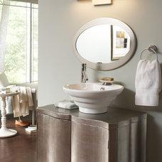 Transitional Bathroom by Lighting Elegance
