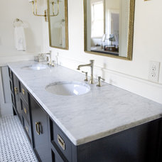 Contemporary Bathroom by Luck Stone Center