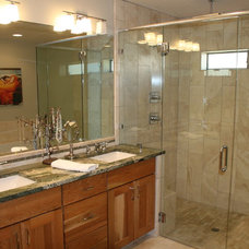 Contemporary Bathroom by Martin Construction and Remodeling