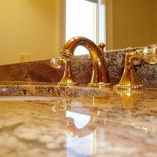 Traditional Bathroom by metamorphosis interior design, Inc.