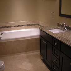 Modern Bathroom by Polski Remodeling & Flooring