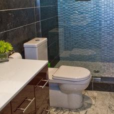 Modern Bathroom by American Tile and Stone/Backsplashtogo