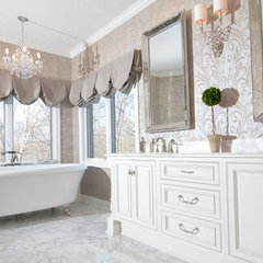traditional bathroom by Chai Design
