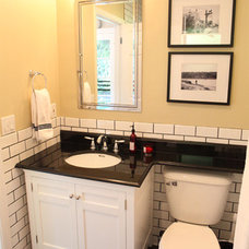 Traditional Bathroom by viney and p