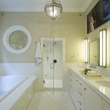 Traditional Bathroom by Gallin Beeler Design Studio