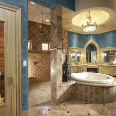 mediterranean bathroom by John Termeer