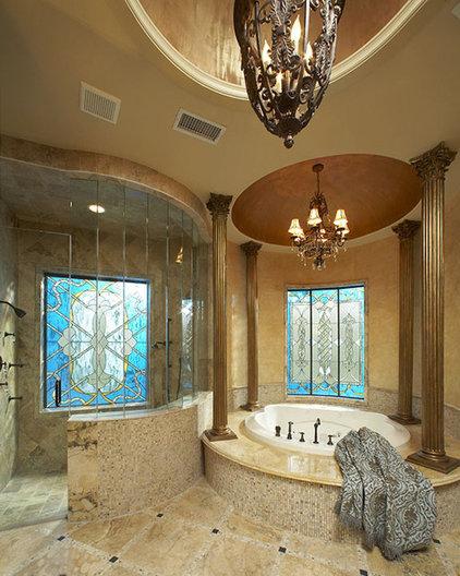Mediterranean Bathroom by John Termeer