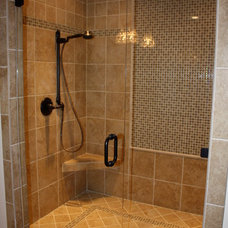 Traditional Bathroom by Real Life Builders, LLC
