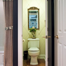 Traditional Bathroom by Michael Cadden . Promaster Design+Build