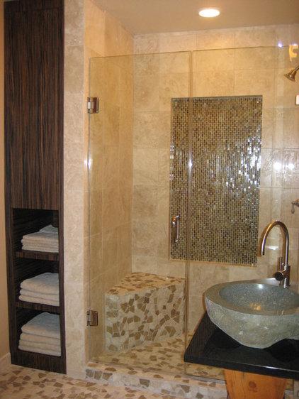 Asian Bathroom by Smart Interiors