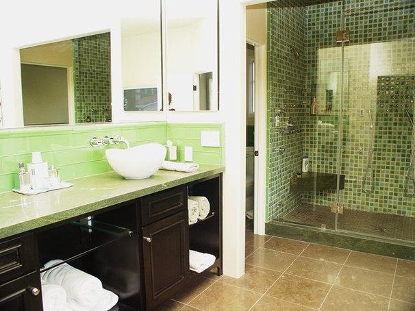 Contemporary Bathroom by Elaine Morrison Interiors