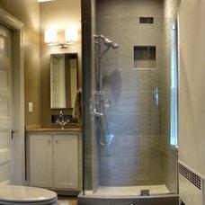 Traditional Bathroom by J&J Flooring
