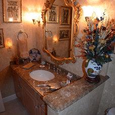 Tropical Bathroom by depotgranite