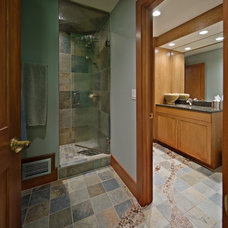 Contemporary Bathroom by Wright Street Design Group Inc.