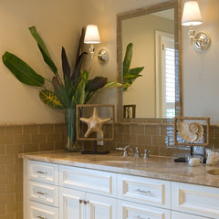 traditional bathroom by Kathy Corbet Interiors