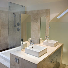 Modern Bathroom by Bonfigli Design