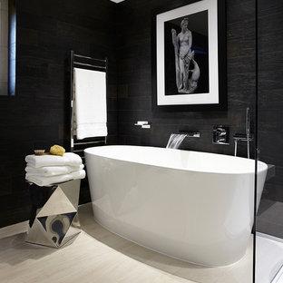 Salle de bain moderne avec un bidet : Photos et idées déco de salles ...