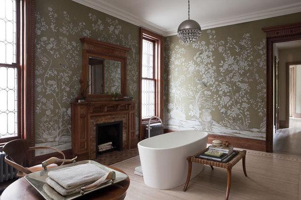 Victorian Bathroom by Neuhaus Design Architecture, P.C.