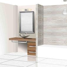 Modern Bathroom by Pivac Design