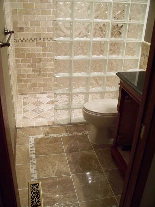Tumbled travertine marble home design ideas pictures for Tumbled marble bathroom designs