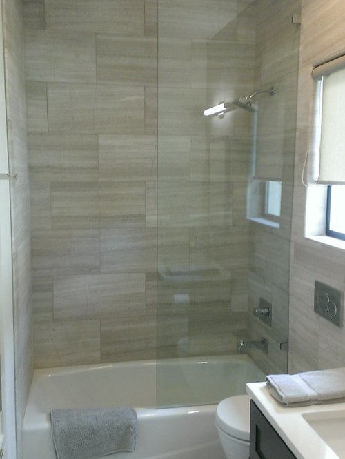 Bathroom 12 Quot X 24 Quot Valentino Gray Marble Walls Floor