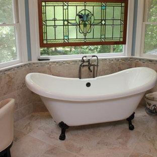 Elegant bathroom photo in Raleigh