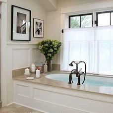 Traditional Bathroom by Charles & Edward Inc.