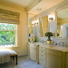 Traditional Bathroom by Lauren Ostrow Interior Design, Inc